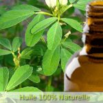 Fenugreek oil massage