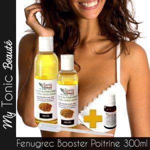 Booster la croisse de la poitrine avec l'huile fenugrec